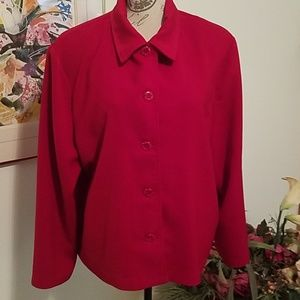 XL Red Blazer